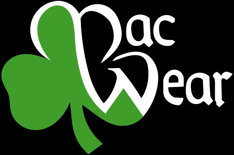 Macwear Logo White Transparent